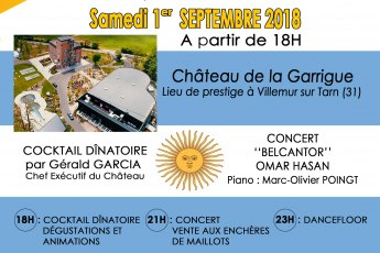 Gaden party Chateau la garrigue